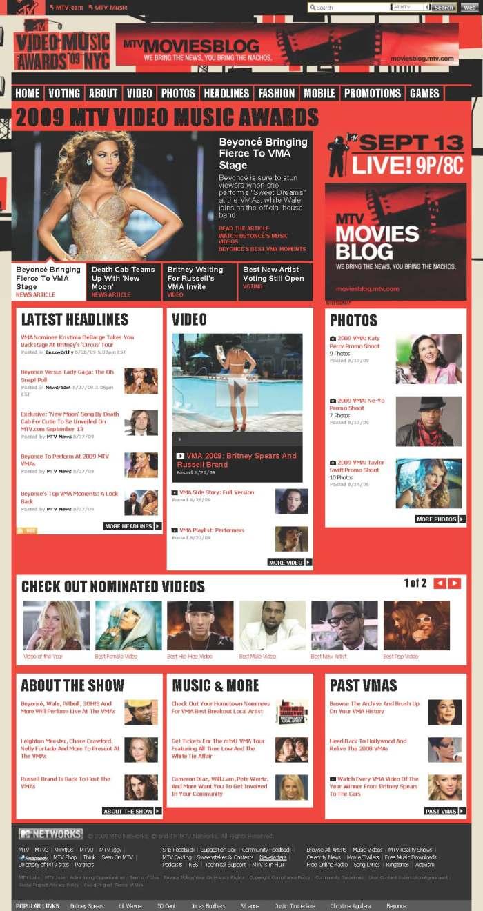2009 MTV Video Music Awards | MTV.com