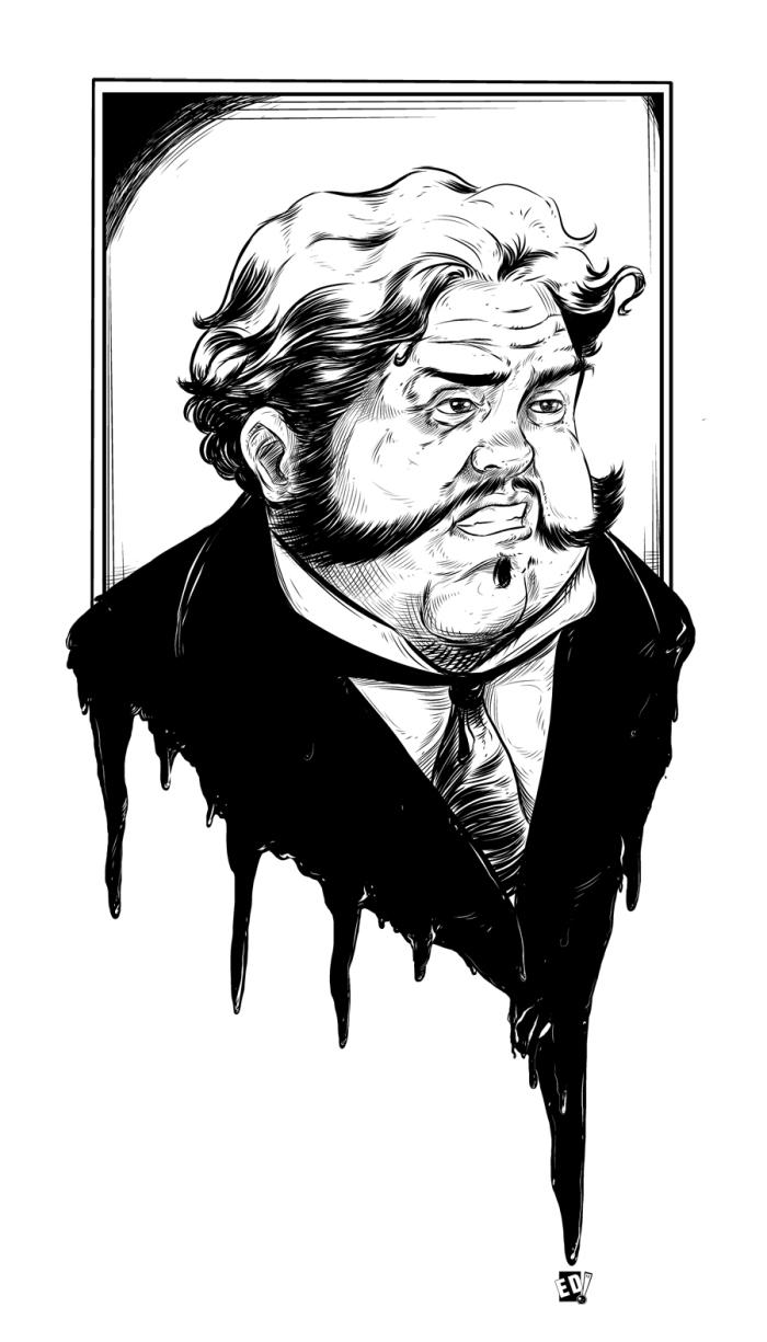 Giraud Mortem ? Ilustración 22 - Por Edison Montero ( Eddaviel )
