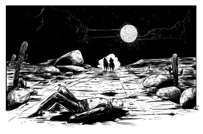 Giraud Mortem ? Ilustración 23 - Por Edison Montero ( Eddaviel )