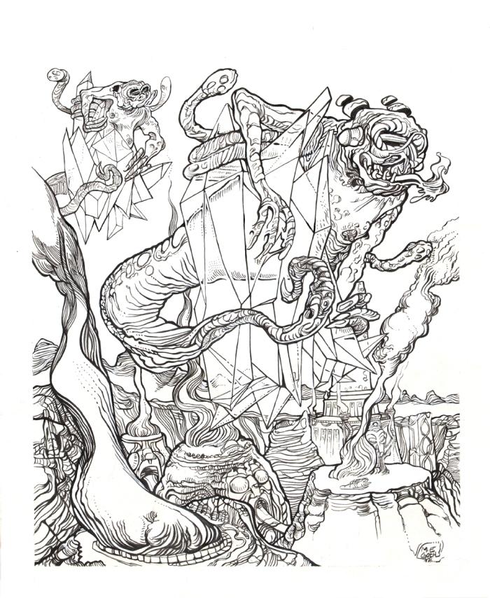 Moebius Infinitum ? Ilustración 23 ? Por Markus E. Goth