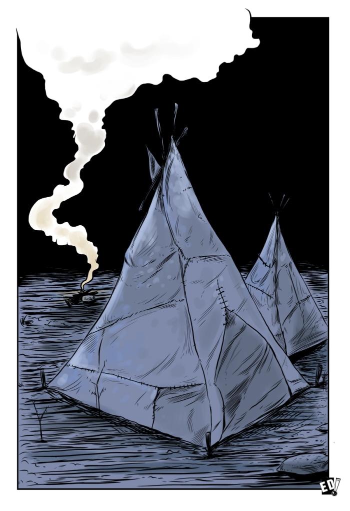 Giraud Mortem ? Ilustración 27 - Por Edison Montero ( Eddaviel )