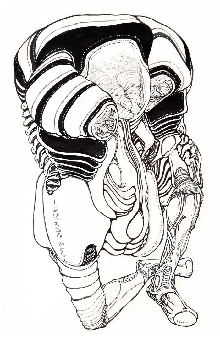 Moebius Infinitum ? Ilustración 27 ? Por Markus E. Goth