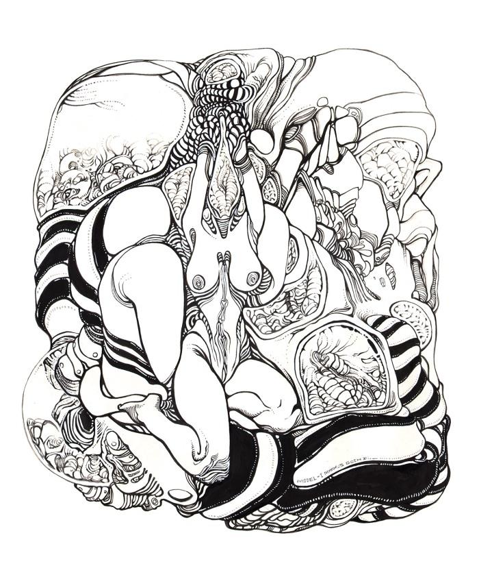 Moebius Infinitum ? Ilustración 28 ? Por Markus E. Goth