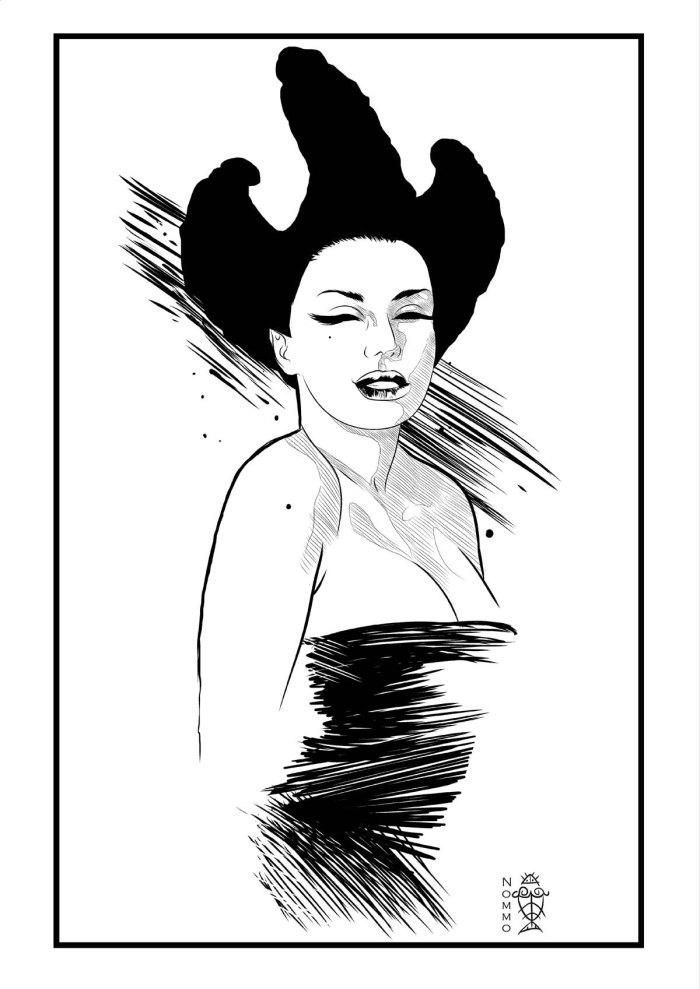 Genuit Moebius -Ilustración 30 ? Welinthon Nommo