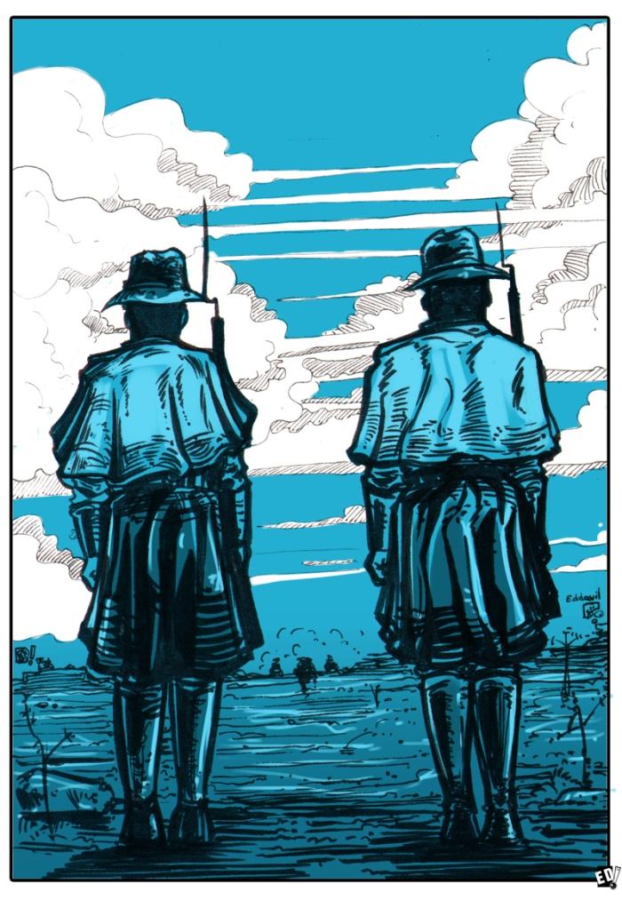 Giraud Mortem ? Ilustración 31 - Por Edison Montero ( Eddaviel )