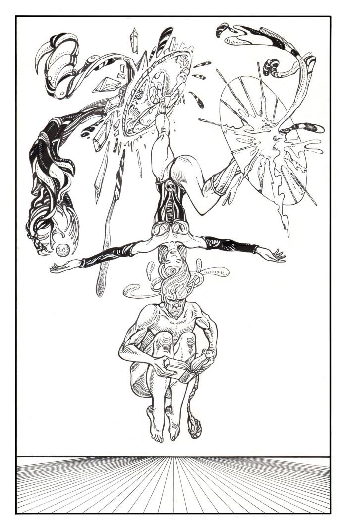 Moebius Infinitum ? Ilustración 31 ? Por Markus E. Goth