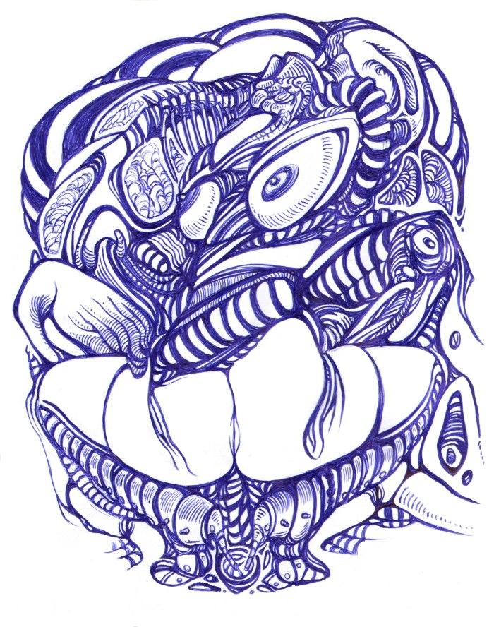 Moebius Infinitum ? Ilustración 32 ? Por Markus E. Goth