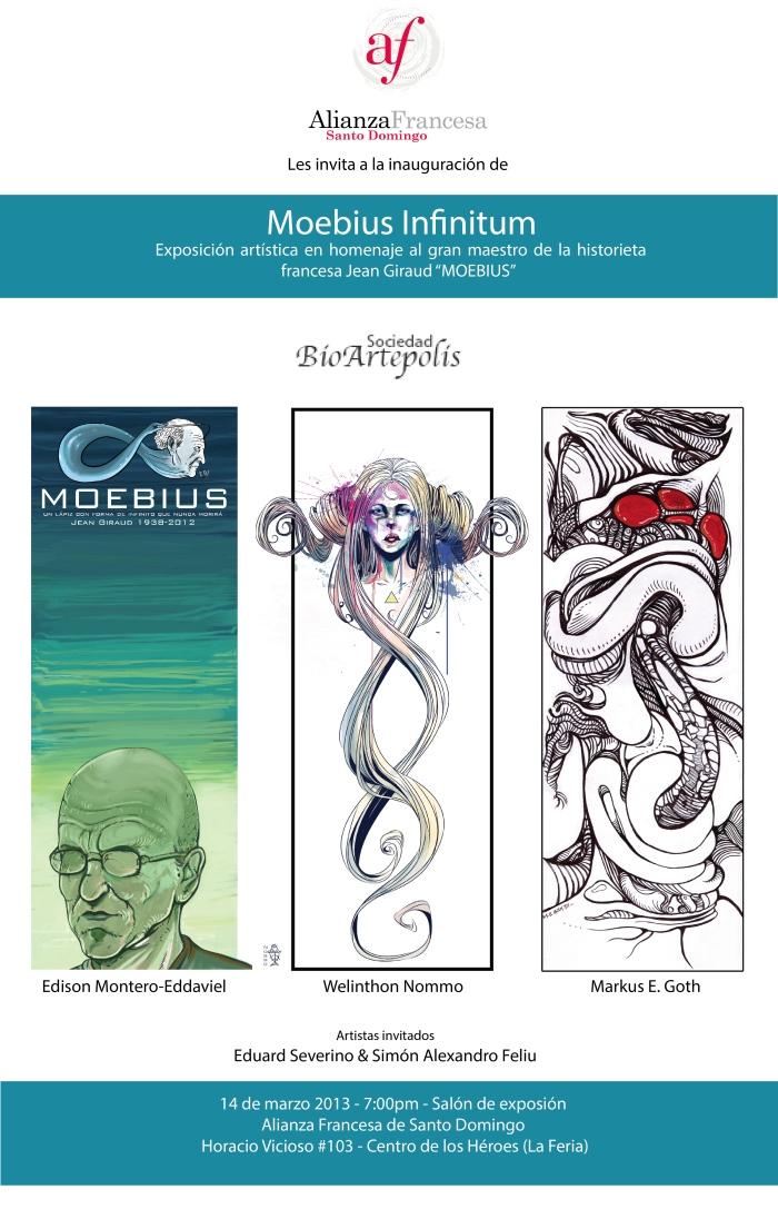 AFICHE PROMOCIONAL MOEBIUS INFINITUM