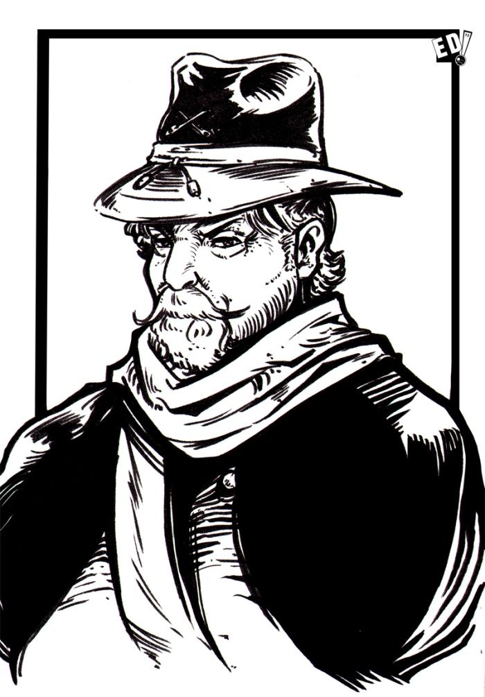 Giraud Mortem – Ilustración 32 - Por Edison Montero ( Eddaviel )