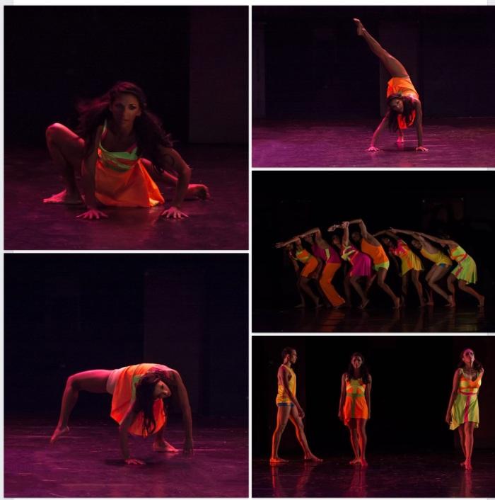 ENCONTRADOS, TRANSITANDO, muestra de danza en el marco de EDANCO, Palacio de Bellas Artes